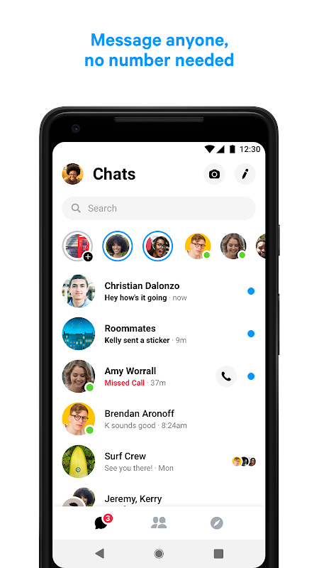 Messenger – Text and Video Chat for Free 213.0.0.0.71 Screen 7