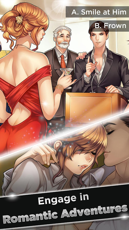 Android Is-it Love? Ryan: Choose your story – Otome Games Screen 2