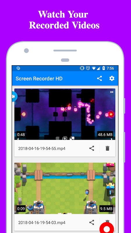 Screen Recorder - Record with Facecam And Audio 2.0.9 Screen 2