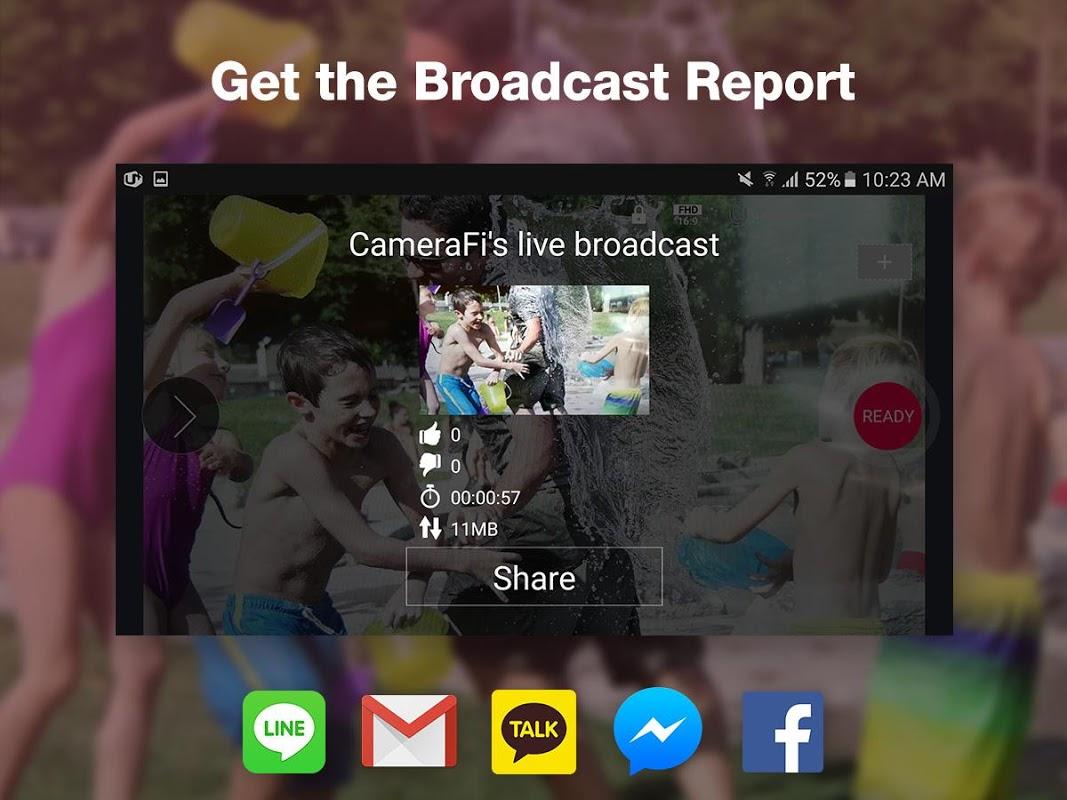 CameraFi Live 1.9.33.0928 Screen 2