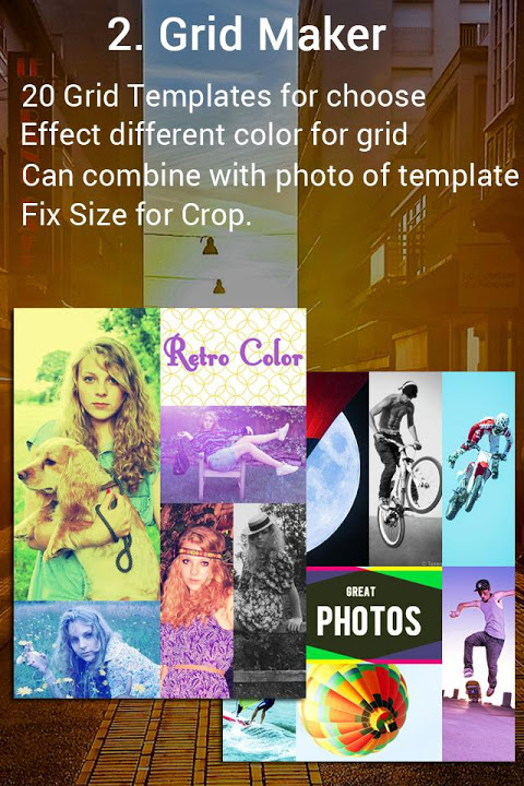 Android Fotos - Photo editor & Collage Screen 2