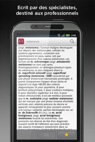 Android Dictionnaire Lavoisier Screen 3