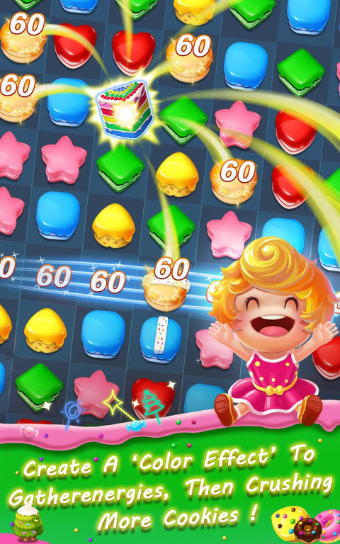 Android Cookie Blast Frenzy Screen 3