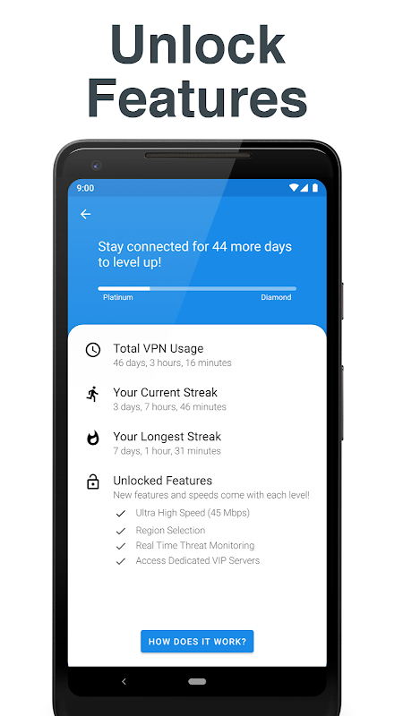 Hotspot VPN - Free, Unlimited, Fast, and Secure! 6.3.1008 Screen 7