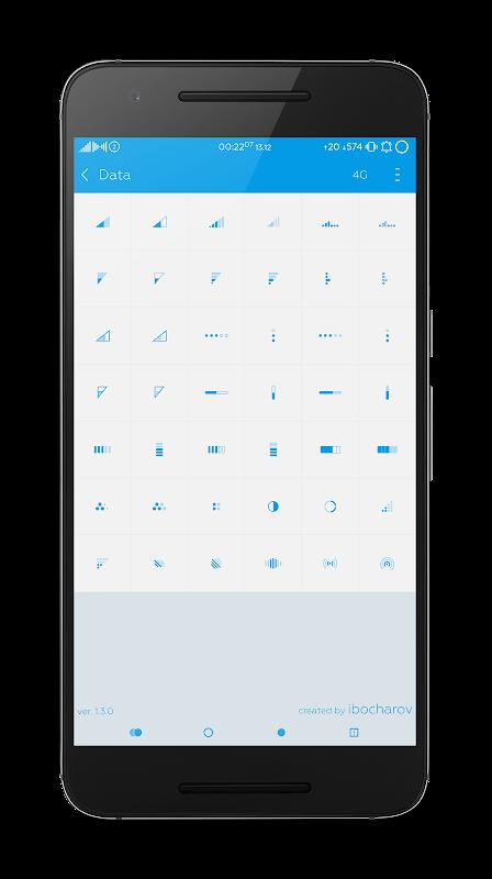 Flat Style Bar Indicators 5.1.3 Screen 1