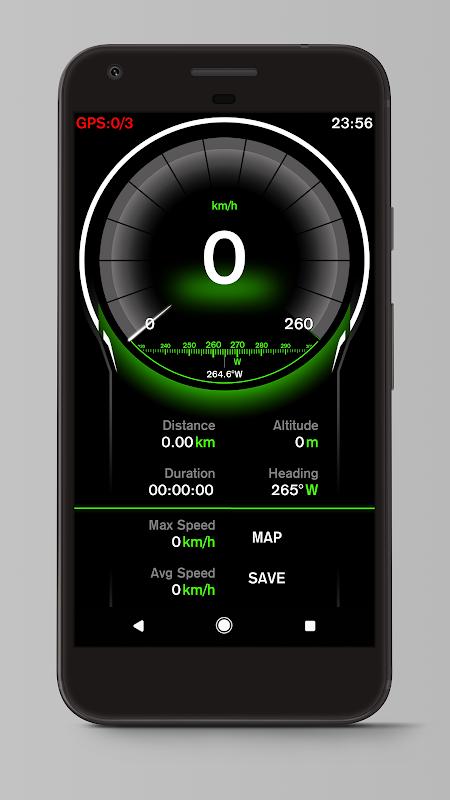 Speed View GPS Pro 1.4.16(googlemap) Screen 8