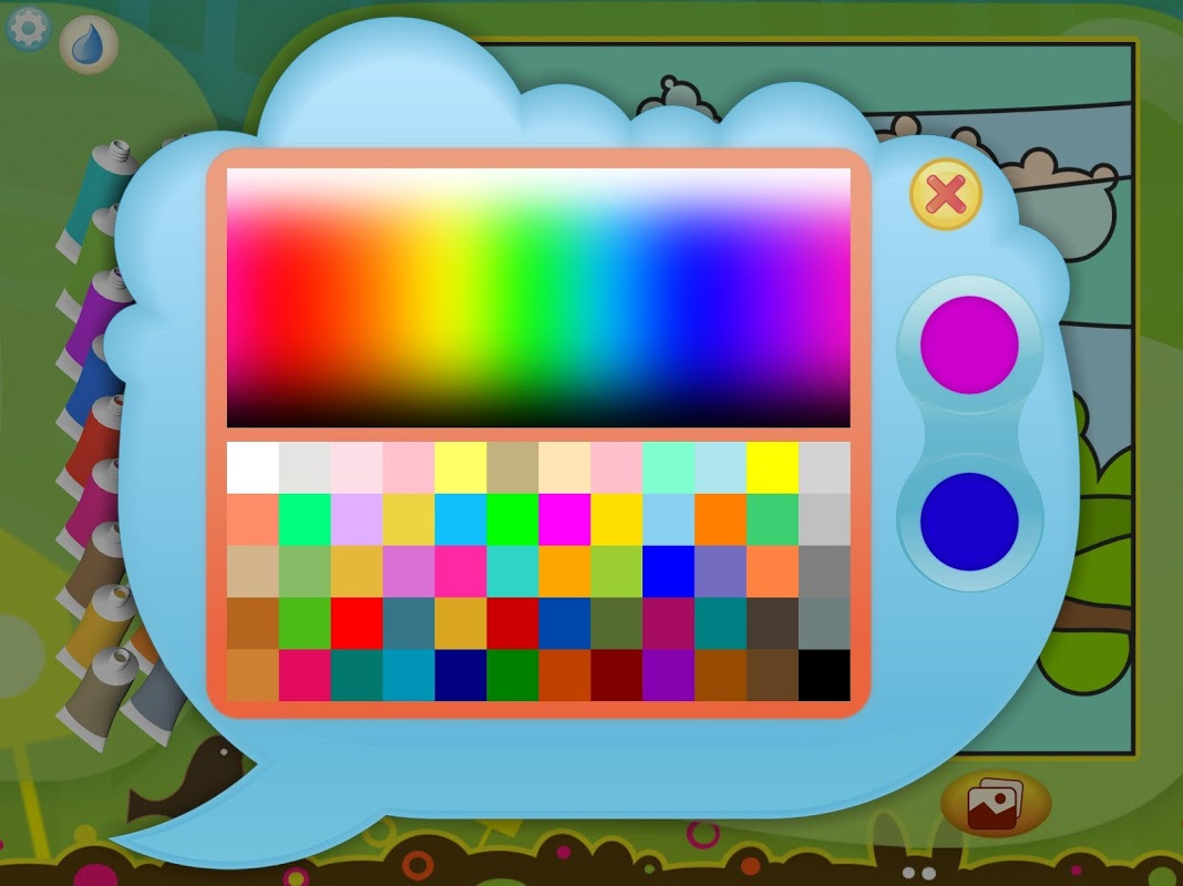 Android Paint by Numbers - Animals Screen 7