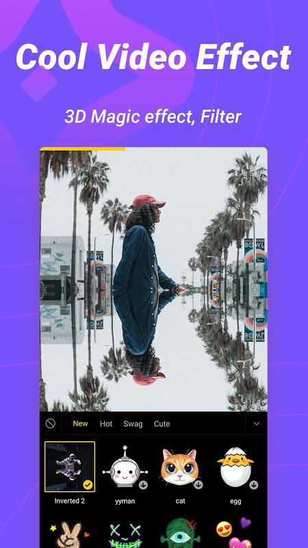 Biugo— Magic Effects Video Editor & Photo Cutout 1.3.00 Screen 1