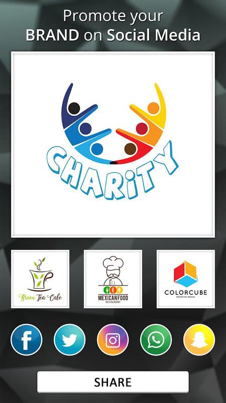 Android Logo Maker - Logo Creator, Generator & Designer Screen 4