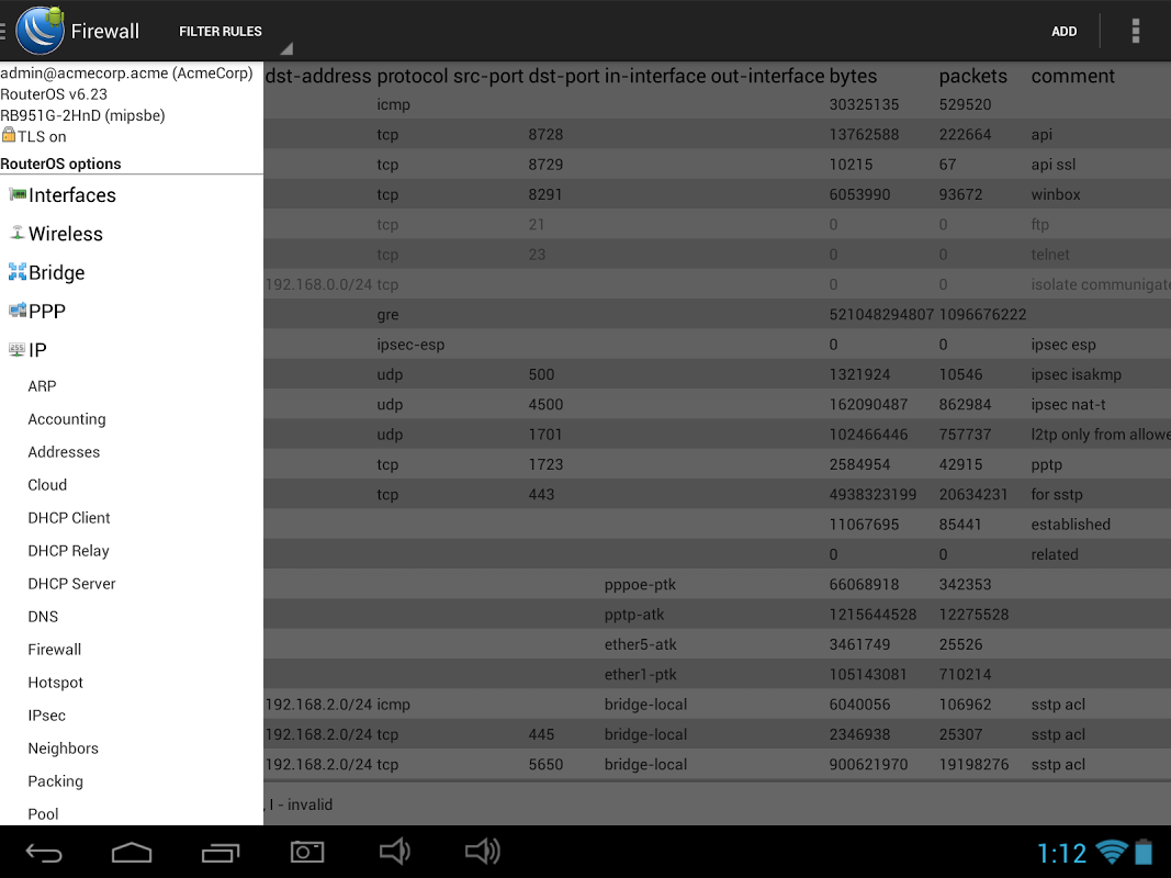 DroidBox Mikrotik config tool 0 4 4 1 APK Download by Пинчук