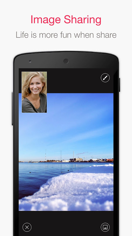 JusTalk - Free Video Calls and Fun Video Chat 7.2.54 Screen 2