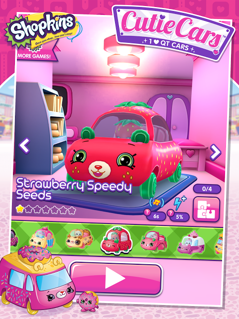Android Shopkins: Cutie Cars Screen 4