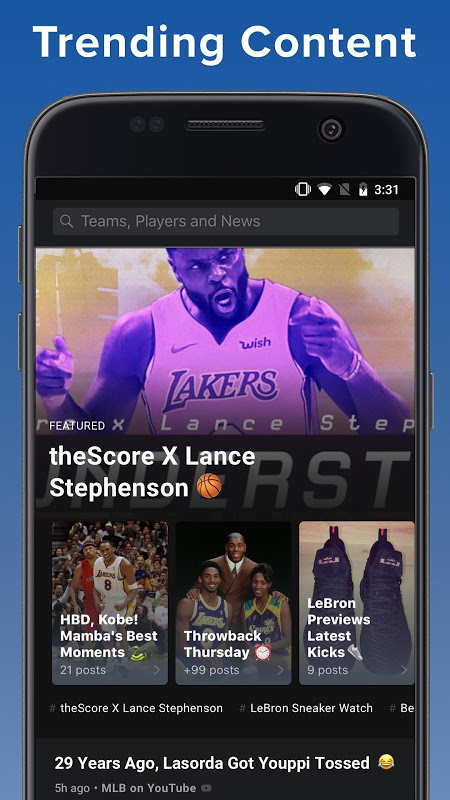theScore: Sports & Scores 3.20.2-B Screen 6