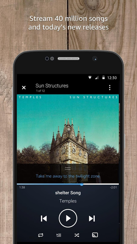 Amazon Music 15.19.5 Screen 2