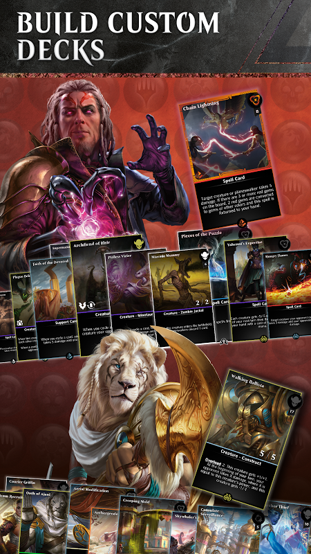 Android Magic: The Gathering - Puzzle Quest Screen 1