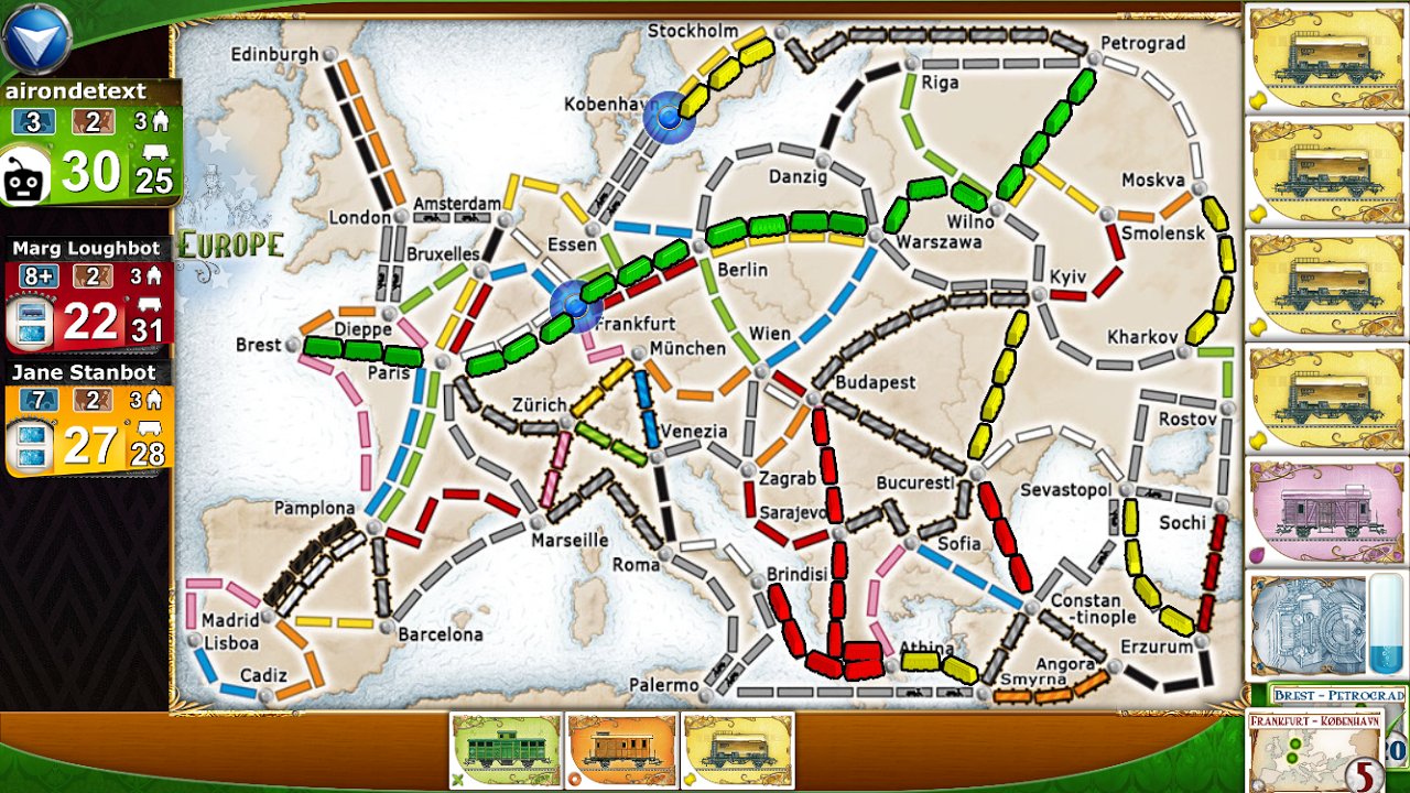 Ticket to Ride 2.4.2-5178-b4860ba Screen 4