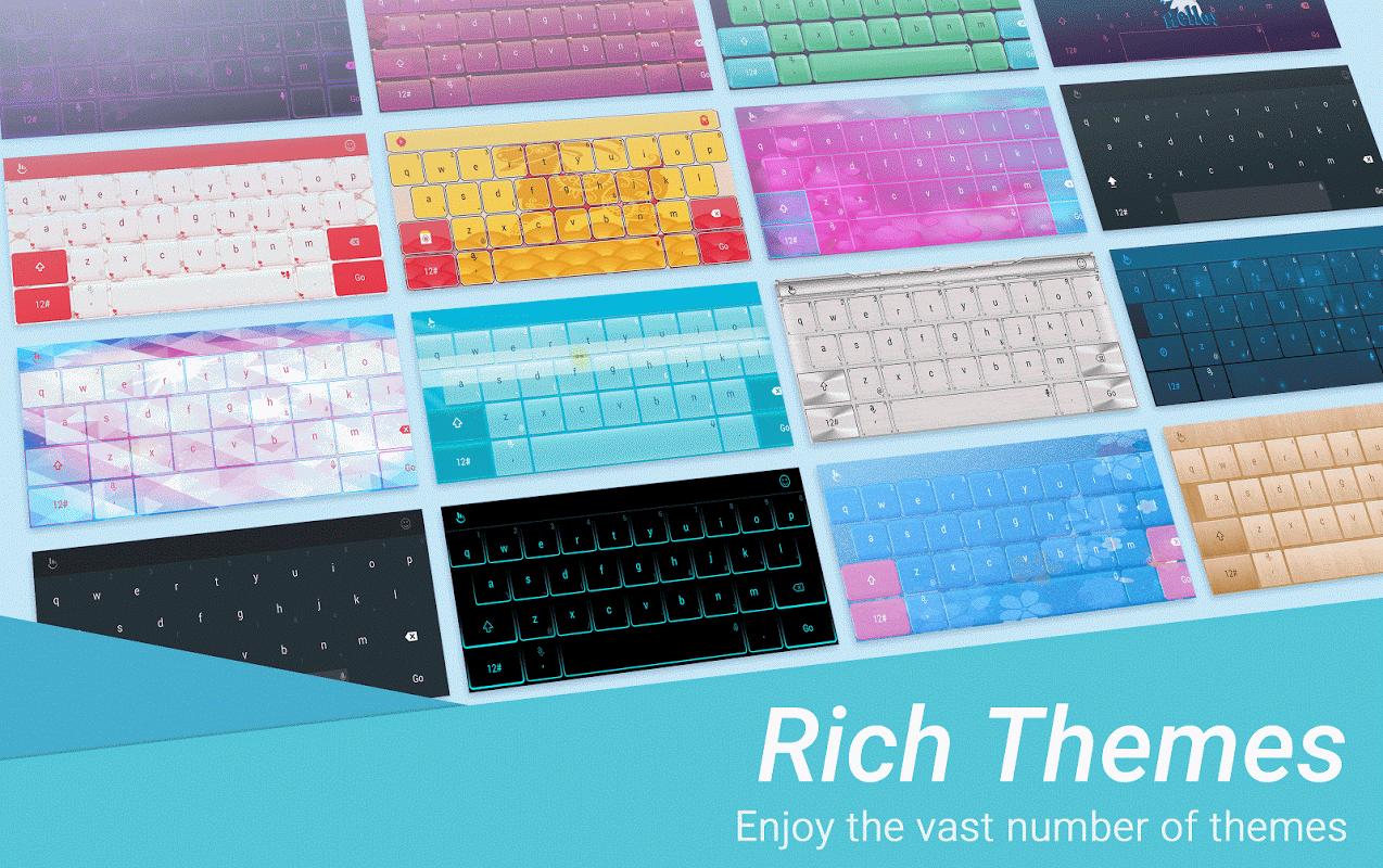 TouchPal Emoji Keyboard 6.1.4.5 Screen 2