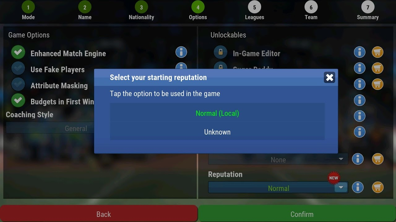 Football Manager Mobile 2018 9.0.3 (ARM) Screen 5