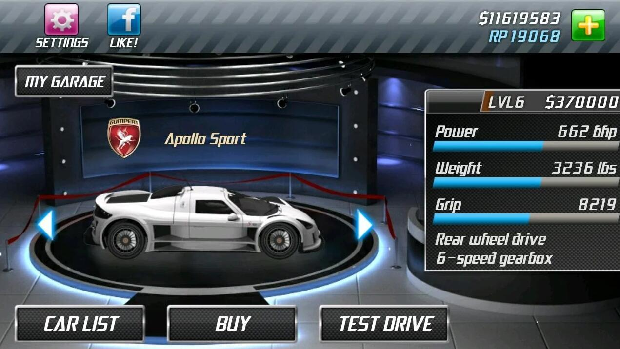 Drag Racing 1.7.63 Screen 2