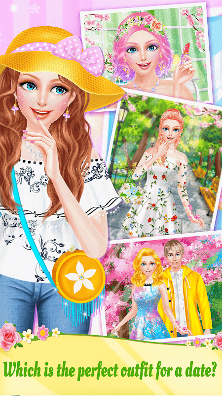 Android Spring Date Flower Spa & Salon Screen 3