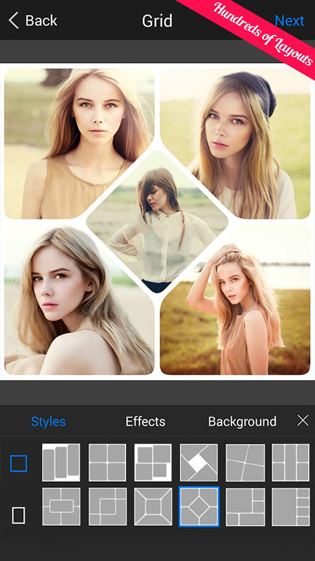 Android PIP Camera - Photo Editor Pro Screen 17