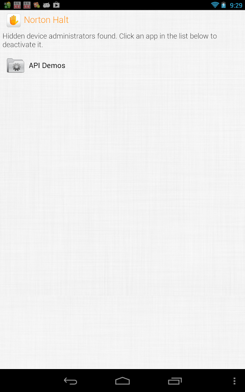 Norton Halt 5.6.0.173 Screen 7