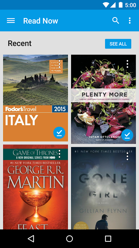 Android Google Play Books Screen 19
