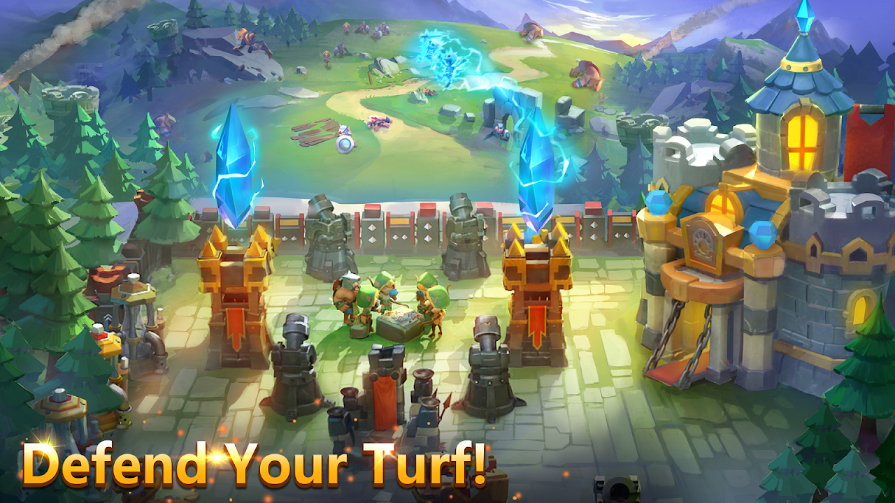Castle Clash 1.4.1 Screen 1