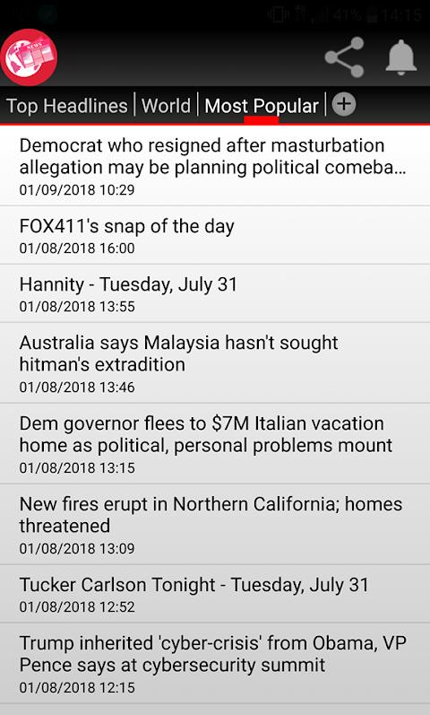 Rss News 1.2.0 Screen 3