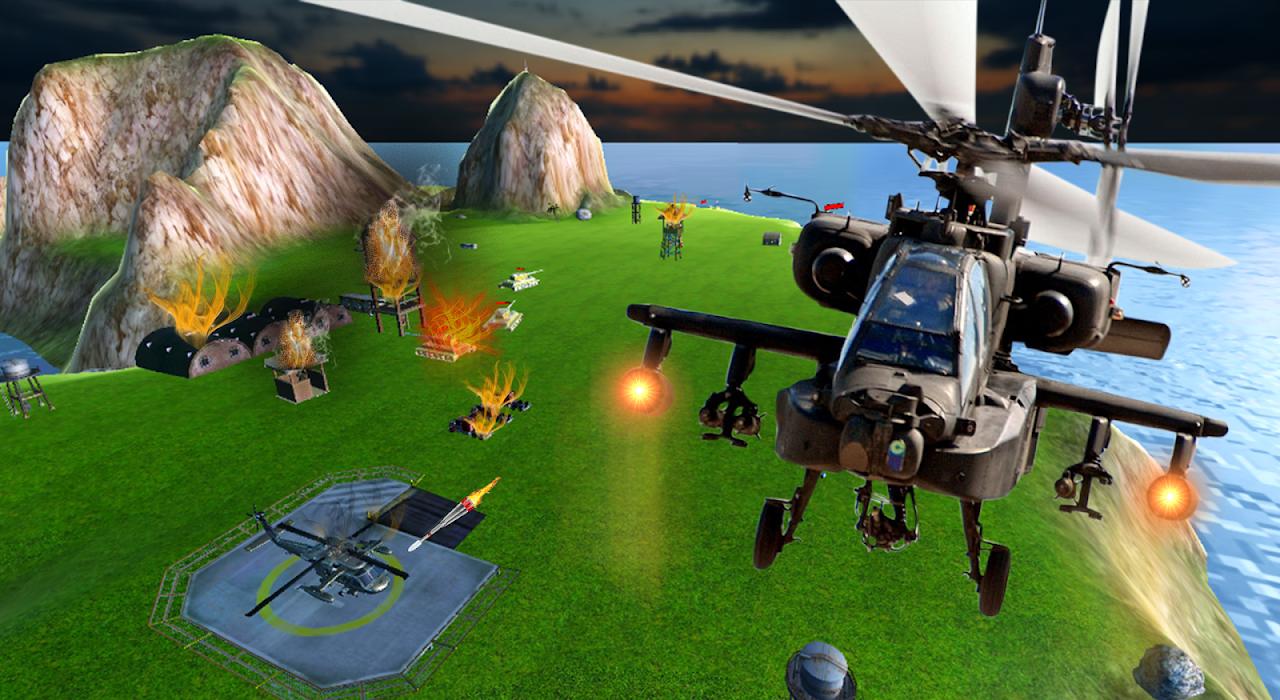 Heavy Gunship Helicopter War🚁 1.3 Screen 2