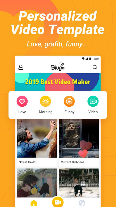 Biugo— Magic Effects Video Editor & Photo Cutout 1.3.00 Screen 2