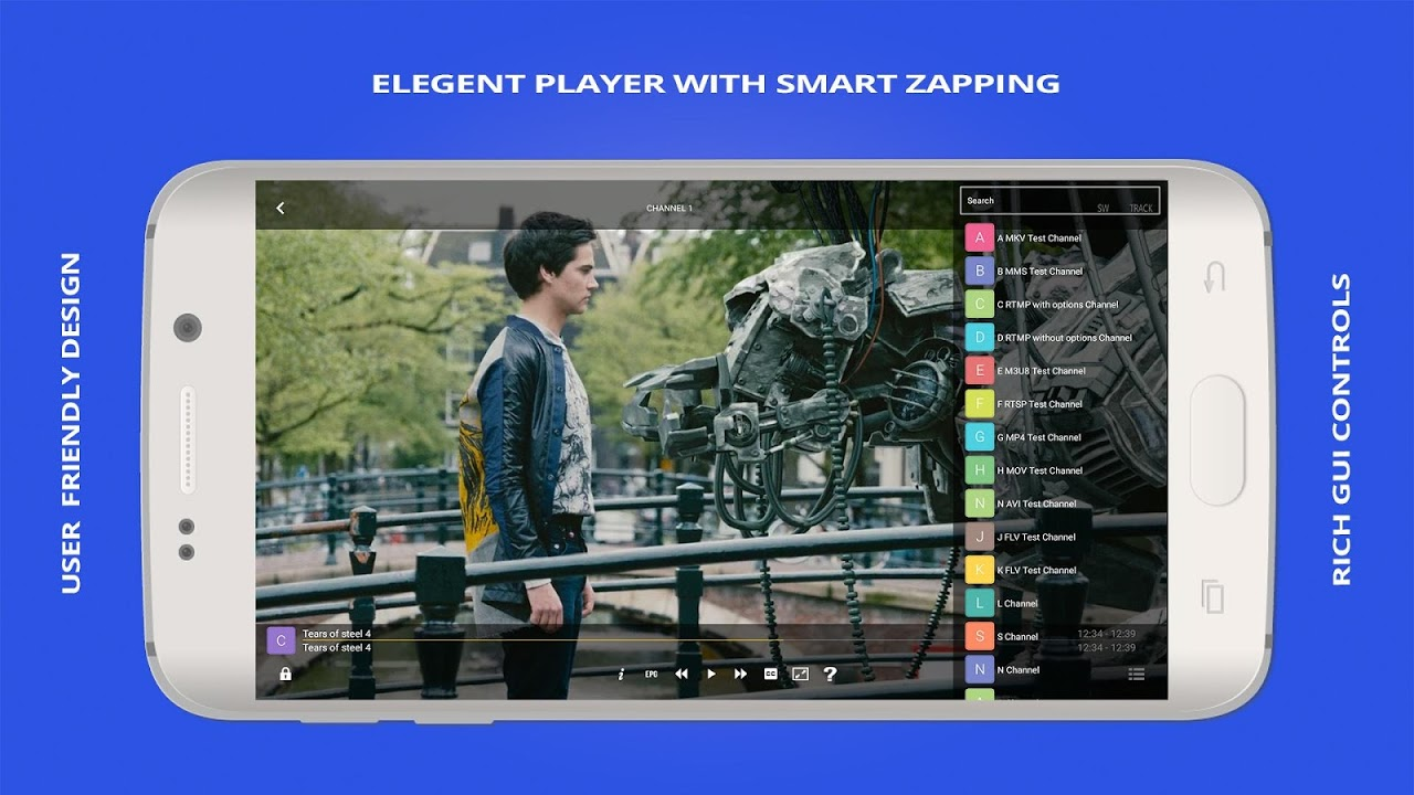 GSE SMART IPTV 4.6 Screen 1