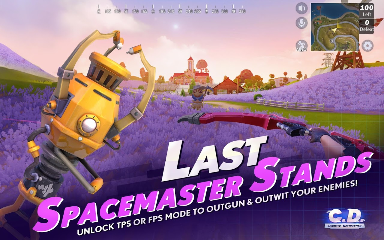 Android Creative Destruction Screen 5