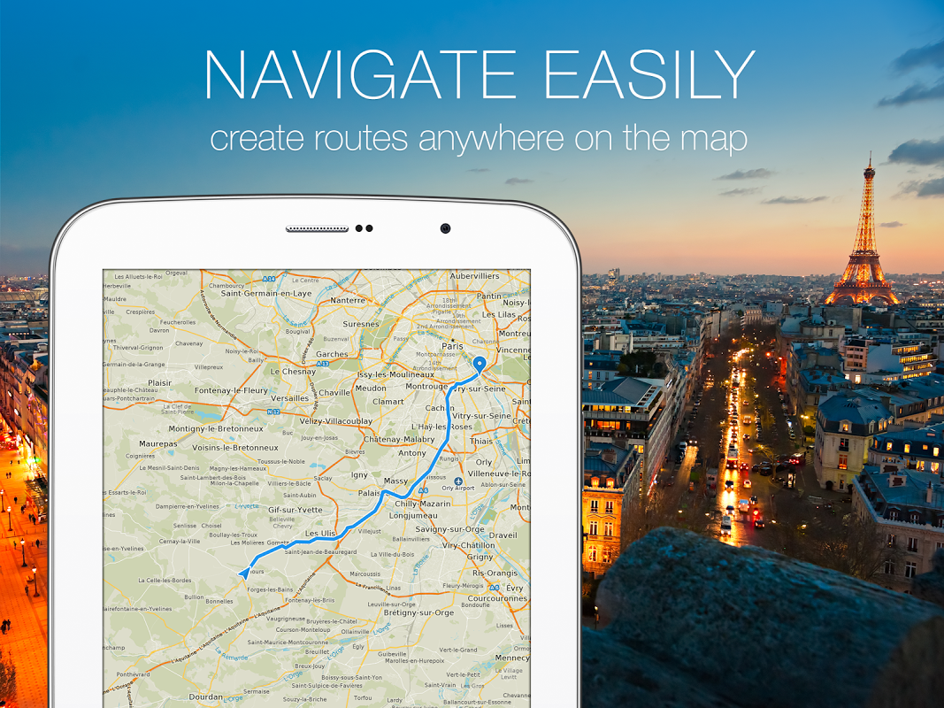 MAPS.ME Offline Map+Navigation 8.4.5-Google Screen 1