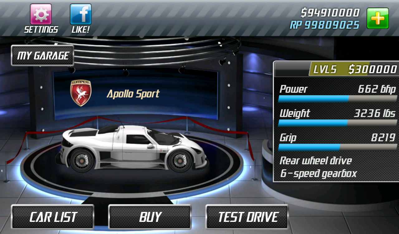 Drag Racing 1.7.51 Screen 7
