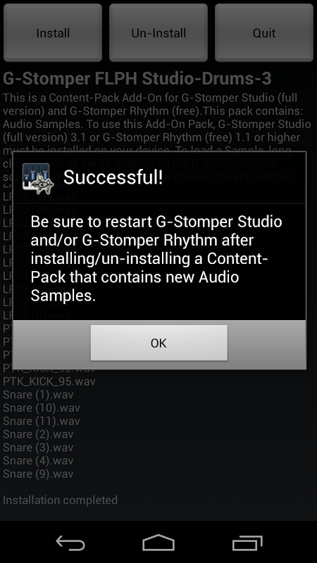 G-Stomper FLPH Studio-Drums-3 1.0 Screen 1