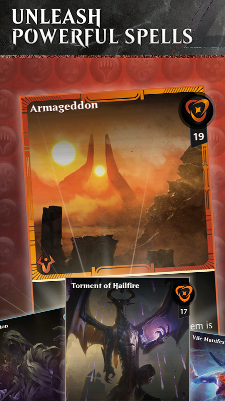 Android Magic: The Gathering - Puzzle Quest Screen 2