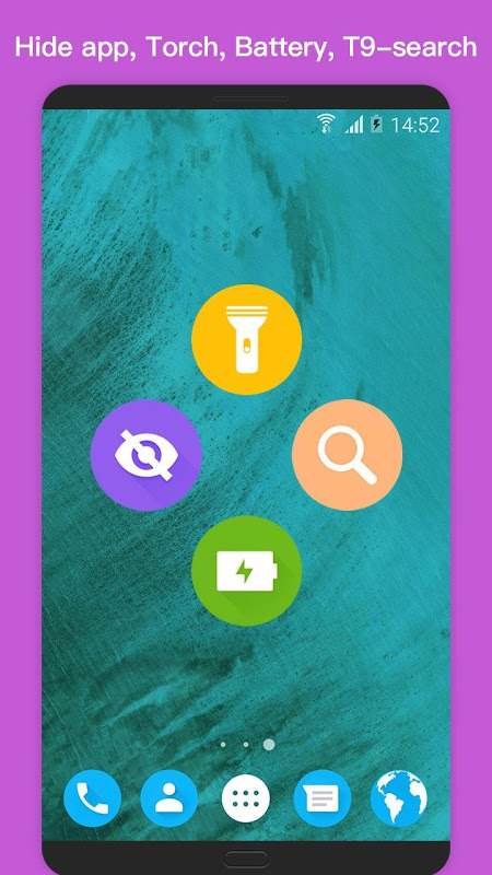 Android O Plus launcher - 2018 Oreo Launcher, Android™ O 8 Screen 3