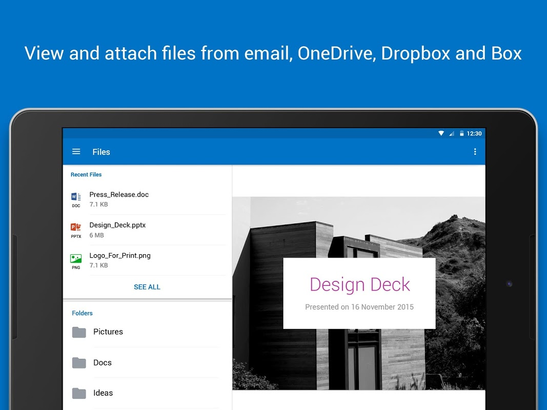 Microsoft Outlook 2.2.219 Screen 3