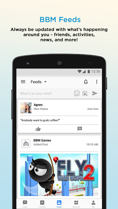 Android BBM - Free Calls & Messages Screen 12