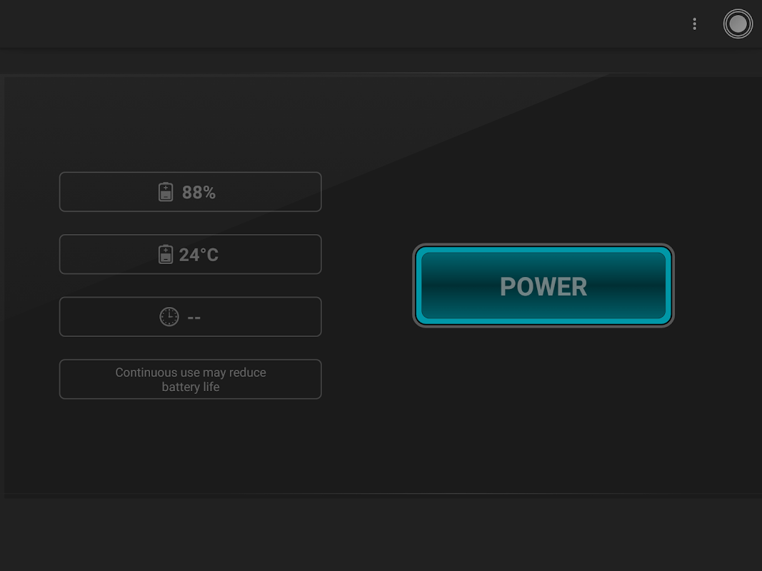 Android Torch - Tiny Flashlight ® Screen 4