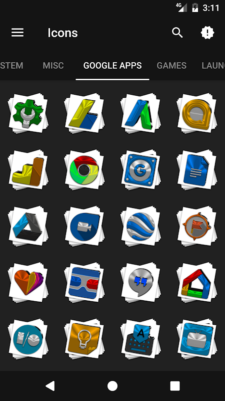 Android Stacks Icon Pack v4.2 Screen 6