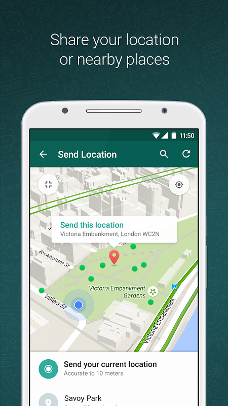 WhatsApp Messenger 2.18.13 Screen 4