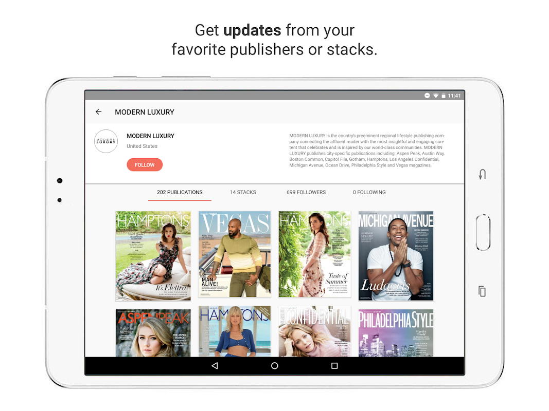 issuu - Read Magazines, Catalogs, Newspapers. 5.18.0 Screen 11