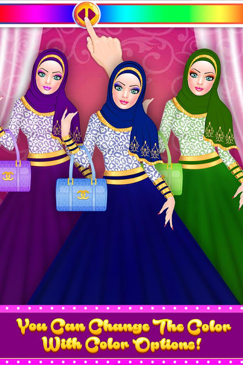 Hijab Fashion Doll Dress Up 1.2 Screen 4