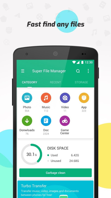 Android Super File Manager (Explorer) Screen 3