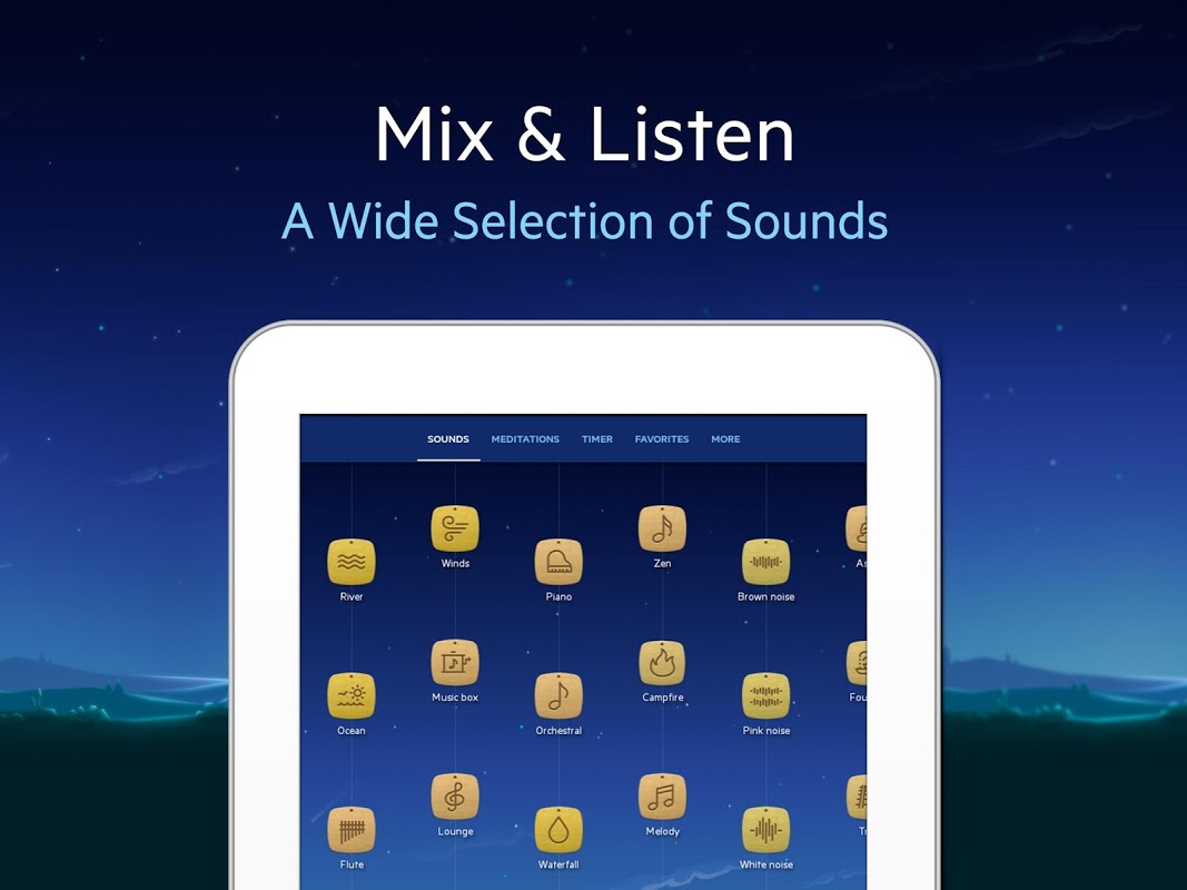 Android Relax Melodies: Sleep Sounds Screen 5
