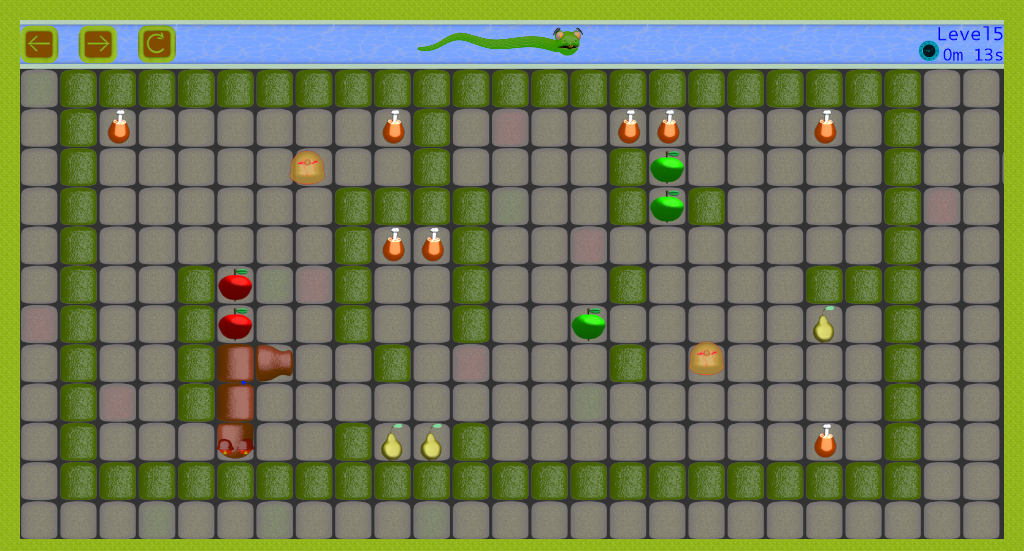 Android Snake vs Monsters Screen 1