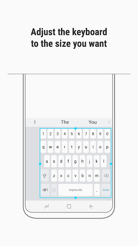 Samsung Keyboard 3.2.10.32 Screen 3