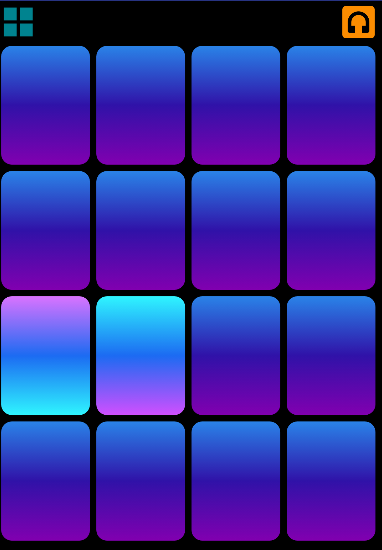 Android Musical Pad Screen 2